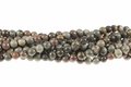 Mexicon Agate 8mm Round Beads 15.5""