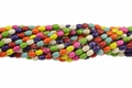 Mix Color Magnesite 6x12mm Rice Beads 15.5""
