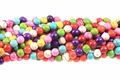 Mix Color Magnesite 8mm Round Beads 15.5""
