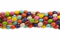 Mix Color Magnesite 8x12mm Rice Beads 15.5""