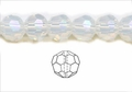 Moonstone Opalite 10mm Faceted Round Beads 50 pcs.