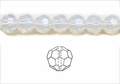 Moonstone Opalite 4mm Faceted Round Beads 100 pcs.
