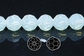 Moonstone Opalite 8mm Faceted Round 50 pcs.