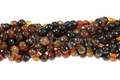 Natural Agate 8mm Round Beads 16""