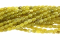 Olivine Jade 4x6mm Rice Beads 16""