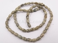 Picasso Jasper 4x6mm Rice Beads 16""
