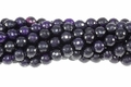 Purple Agate 8mm Faceted Round Beads 15.5""