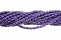 Purple Magnesite 4x6mm Rice Beads 16""