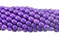 Purple Magnesite 6x8mm Rice Beads 16""
