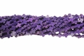 Purple Magnesite 8x10mm Cross Beads 15.5""