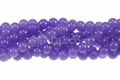 Purple Quartz 8mm Round Beads 16""