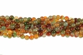 Rainbow Agate 8mm Round Beads 15.5""