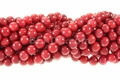 Red Coral 6mm -7mm Round Beads 16""