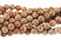 Red Dumotierite 8mm Round Beads 16""
