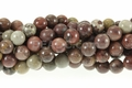 Red Leopard Skin Jasper 8mm Round Beads 16""