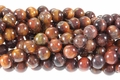 Red Tiger Eye 8mm Round Beads 16""