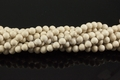River Fossil 8mm Round Beads 15.5""