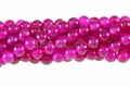 Rose Agate 8mm Round Beads 16""