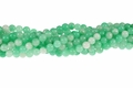 Shanghai Jade 8mm Round Beads 15.5""