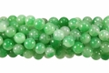 Shanghai Jade 8mm Round Beads 16""