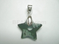 Snowflake Star 20mm With Hole Pendant