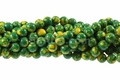 Synthetic Apple Azurite 8mm Round Beads 16""