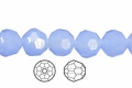 Synthetic Aqua Quartz 12mm Faceted Round Beads 40 pcs.