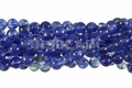 Synthetic Blueberry Quartz 8mm Round Beads 16""