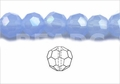 "10mm Rec. Chalcedony Faceted Round 50 Beads (approx.18"")"