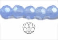 Synthetic Chalcedony 12mm Faceted Round Beads 40 pcs.