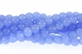 Synthetic Chalcedony 8mm Round Beads 42pcs.
