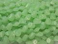Synthetic Chrysoprase 14x16mm Faceted Beads 23 pcs.