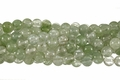 Synthetic Greenberry Quartz 8mm Round Beads 16""