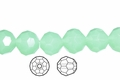 Synthetic Larimar 10mm Faceted Round Beads 50 pcs.