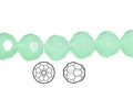 Synthetic Larimar 12mm Faceted Round Beads 40 pcs.
