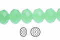 Synthetic Larimar 3x4mm Faceted Rondelle Beads 100 pcs.