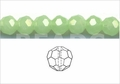 Synthetic Larimar 4mm Faceted Round Beads 100 pcs.