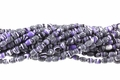 Synthetic Purple Malachite 4x6mm Rice Beads 16""