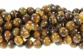Tiger Eye 8mm Round Beads 16""