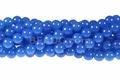 Turquoise Candy Jade 8mm Round Beads 16""