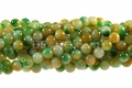 Watermelon Jade 8mm Round Beads 16""