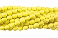Yellow Magnesite 6x8mm Rice Beads 16""