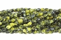 Yellow Turquoise 4x6mm Rice Beads 16""