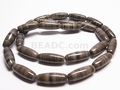 Zebra Agate 6x16mm Rice Beads 16""