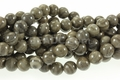 Zebra Agate 8mm Round Beads 16""