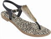 Grendha Savannah Women's Sandals - Black/Gold