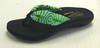 Island Slipper ZB393 Women's Sandals - Green Tahiti