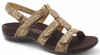 Orthaheel Amber Women's Sandals - Brown Cork