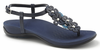 Orthaheel Julie II Women's Sandals - Navy