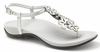Orthaheel Julie II Women's Sandals - Pewter & Silver